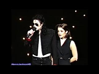 Michael Jackson  Lisa Marie Presley - MTV Video Music Award Opening 1994 HD