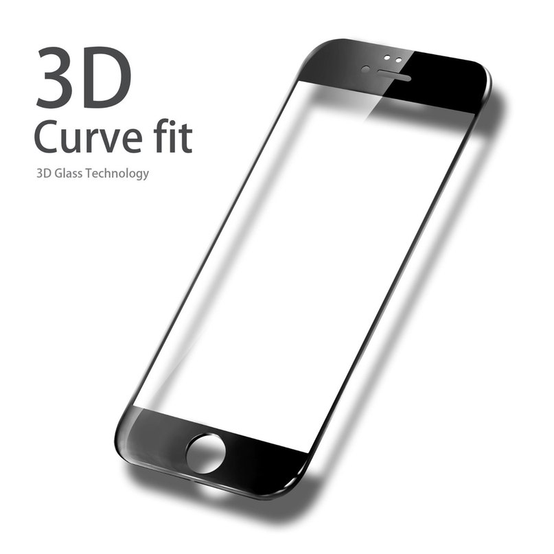 Защитное стекло 8D Iphone 7/8 plus
