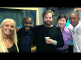 Hangover Part III: Zach Galifianakis and Ken Jeong interview - Kiss FM (UK)