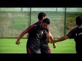 Nuevo entrenamiento del Sevilla en Benidorm, ya pensando en el partido ante el Bournemouth