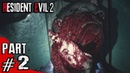 Resident Evil 2 Remake - Leon Gameplay Playthrough Part 2 - Welcome to RPD