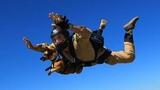 Daredevil Dachshund Riley Loves First Skydive Trip