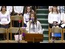 Христос воскресне, песня, Костенко Аня 15.04.2018 ц Вифания