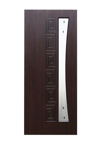 Межкомнатная дверь ГРЕЦИЯ НАТУРАЛЬНЫЙ ШПОН (ВЕНГЕ)