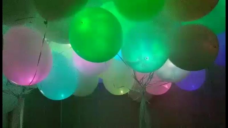 чудесные светящиеся шарики прекрасно украсят любой праздник!