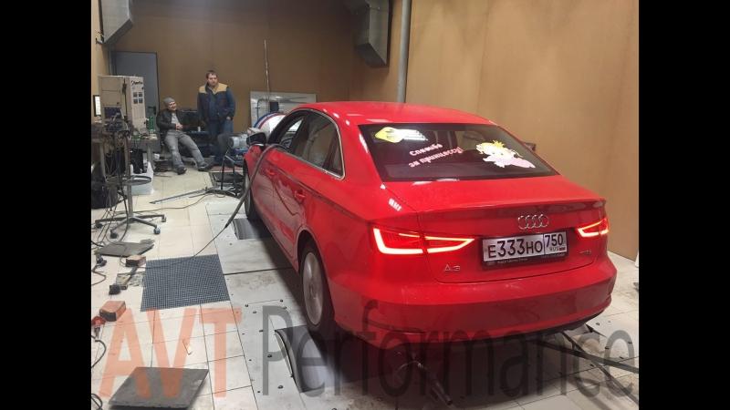 Audi A3 1.4 TFSI (Мощностной стенд) AVT Performance