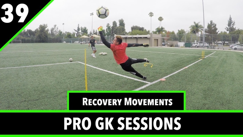Recovery Movements Shot Stopping | Goalkeeper Training | Pro Gk Sessions