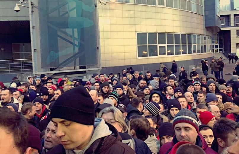 «Фратрия»: По ситуации с болельщиками на матче «Динамо» – «Спартак»