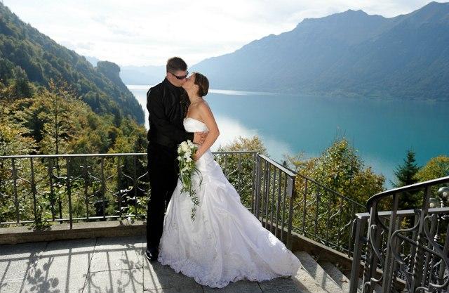 Альпы, свадьба