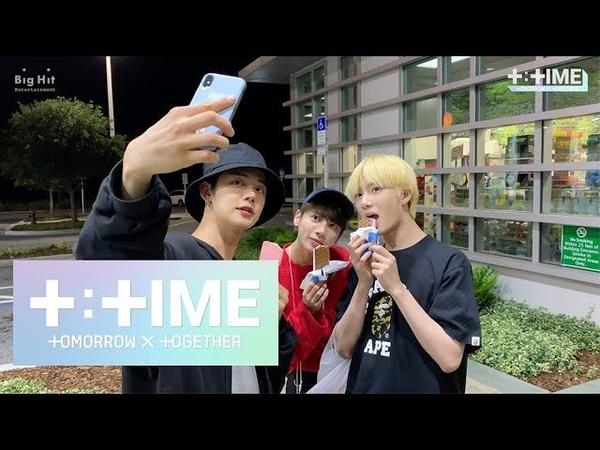 [T:TIME] YEONJUN's treat for members, Yummy ice cream! - TXT(투모로우바이투게더)