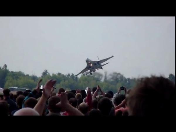 СУ-35 Сумасшедшее приземление