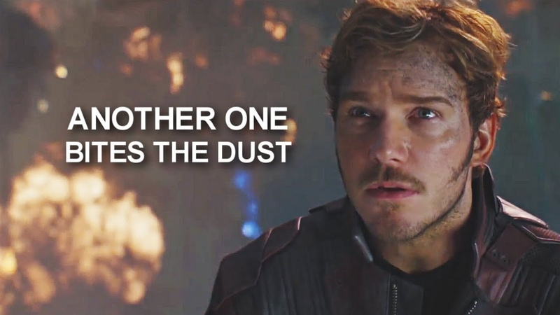 Peter Quill Star lord    Another one bites the dust