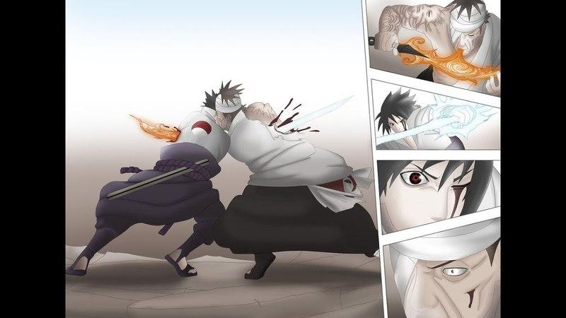 Убив данзо, ему пришлось сразится с какаши, сакурой и наруто, на четвертой мировой войне шиноби саске сражался плечом к плечу со своим братом против кабуто, и они одержали победу.