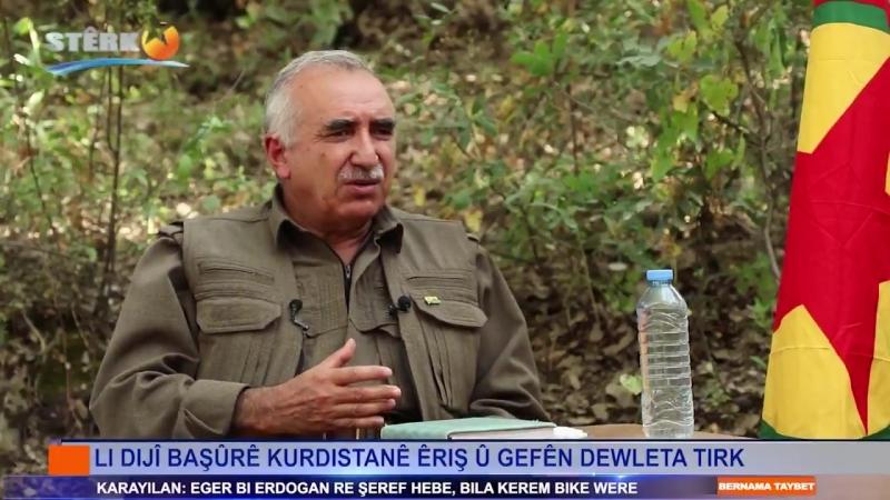 Mûrat Karayilan - bersiv da gefên Erdogan ên dagirkeriyê û got eger bi Erdogan re şeref hebe bila kerem bike were Qend