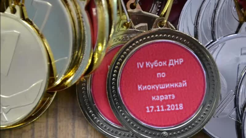 IV Открытый кубок ДНР по Киокушинкай каратэ 17 11 2018г г Донецк