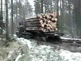 Грузовой автомобиль УРАЛ прохождение по лесу  Вездеходы