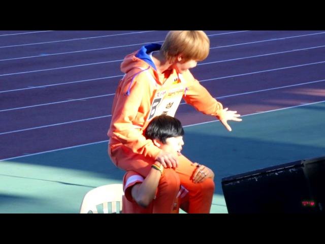 [130903]아이돌육상대회 인피니트 INFINITE - 성종 Sungjong 동우 DongWoo