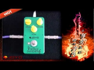 JOYO Vintage Overdrive Guitar Effects Pedal - JF-01