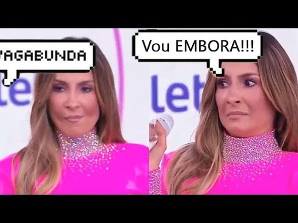 SILVIO SANTOS critica roupa de Claudia Leitte e ela quase abandona o palco do TELETON 2018