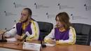 Брифинг об участии делегации ЛНР в Форуме добровольцев в Москве