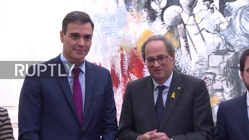Spain PM Sanchez and Catalan President Torra meet in bid to end deadlock