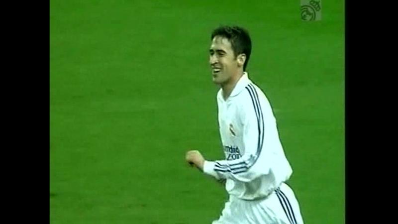 Реал Мадрид 4 2 Химнастик Кубок Испании 2001 2002 1 8 финала ответный матч