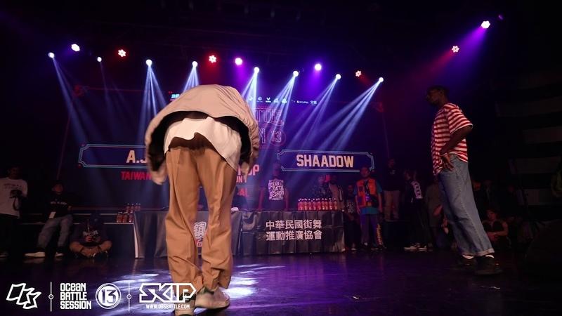 HipHop Final Battle:AJ vs Shaadow|190217 OBS vol.13 Day2 | Danceproject.info