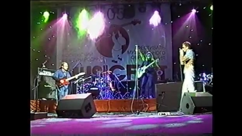 Vladimir Volodin (drums) The Greyhound Blues - Musicfest 2005 part 1