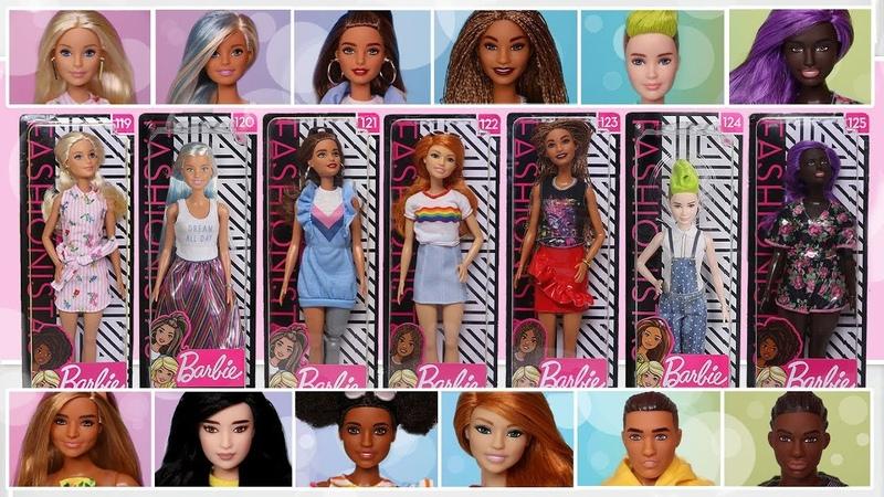 ОБЗОР КУКОЛ: 2019 Barbie Fashionistas Doll [Wave 2]