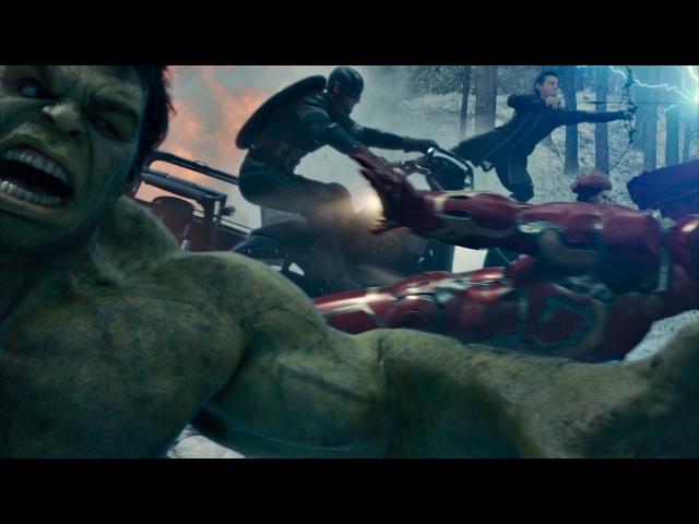 Мстители атакуют базу «Гидры» в Заковии. Мстители: Эра Альтрона. 2015.
