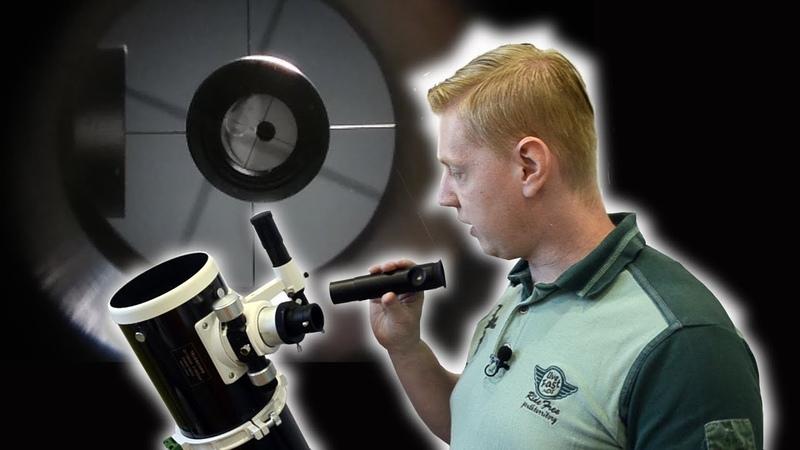 Астрономия для начинающих. Юстировка телескопа Ньютона