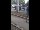 На Таганрогской Стрелковой сбили беременную женшину с 3 годовалым ребёнком 22 09 18 Это Ростов на Дону