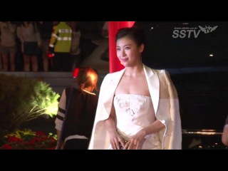 [SSTV] 하지원-한효주-김효진-김민정 등 BIFF 레드카펫 위 '여신강림'