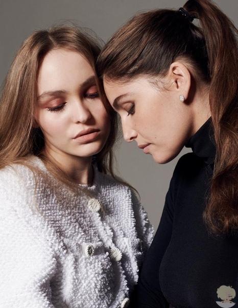 Lily-Rose Depp & Laetitia Casta