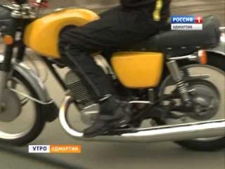 Мотоцикл ИЖ Планета   Спорт Александр Напольских байкер  29 апреля 2014