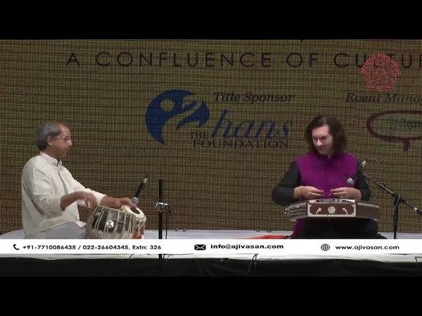 Santoor Maestros Rahul Sharma | Tabla Player Yogesh Samsi | Jugalbandi | The Legends 2017 | Ajivasan