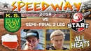 Speedway Nice 1 LŻ 2018 Semi Final 2 Leg ROW Rybnik vs Start Gniezno All Heats 09.09.2018