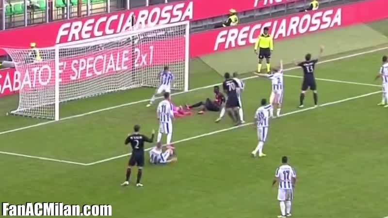 11 тур Милан 1-0 Пескара (30.10.16)