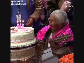 118 лет. Джулия Флорес родилась 26 октября 1900 года. Боливия