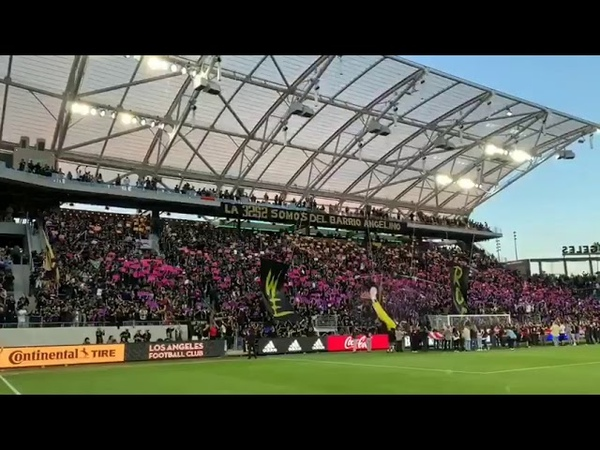 WE WILL ROCK YOU Los Angeles FC 🆚 Montreal Impact FreddieMercury tifo Queen MLS 🗓️ 24 05