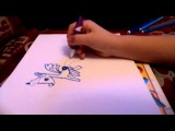 Как рисовать пони луну дружба это чудо 3 серия