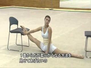 Упражнения растяжки от Алины Кабаевой