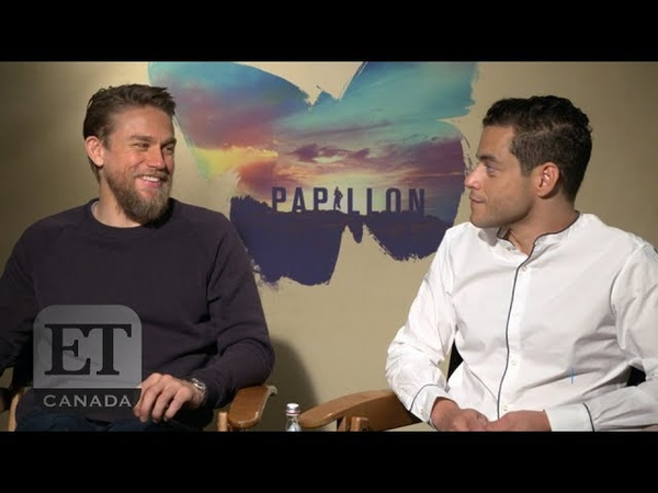 Charlie Hunnam And Rami Malek Talk 'Papillon'