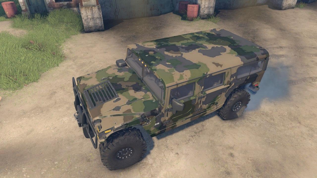 Brute Hummer H1 v1.0 для Spintires - Скриншот 3