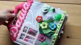 Развивающая книжка-домик #2 в виде сумки для Даши