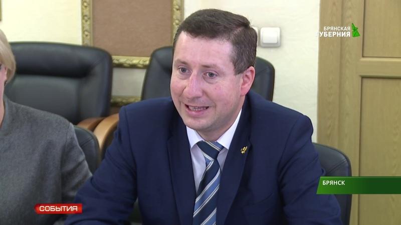 Юрий Клюев пообщался с губернатором Александром Богомазом 08 10 18