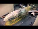 Лазерная чистка и перекраска самолета