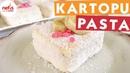 Бисквитный пирог со сливочной начинкой в кокосовой стружке / Kartopu Pasta - Pasta Tarifleri - Nefis Yemek Tarifleri