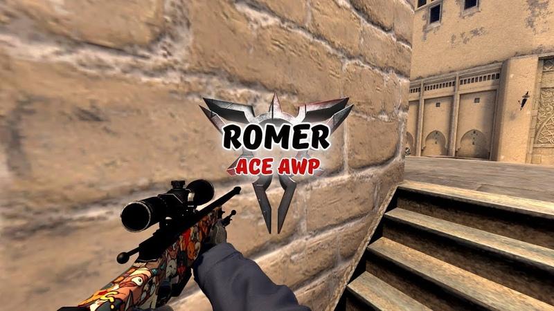 CSGO RomeR_ace_awp_mirage