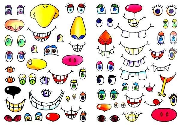 ЛАБОРАТОРИЯ СМЕШНЫХ ЗВЕРОПОРТРЕТОВ На большом листе собрана коллекция зубастых улыбок, разноцветных глаз и смешных носов. С ее помощью, а также с помощью карандашей и красок малыш сможет придать забавный облик знакомым животным или пофантазировать: приклеить клюв овечке, а клыки – зайчику, раскрасить бегемота в розовый цвет или нарисовать змее веснушки. И стать владельцем самого невероятного зоопарка на свете!